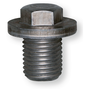 Oil drain screw M14x1,5x16, steel plain